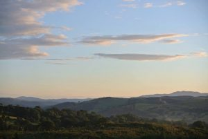 The Dee Valley at Sunset