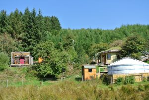 Intimate off grid eco retreat centre - high in the Berwyn mountains - deep in Cynwyd forest